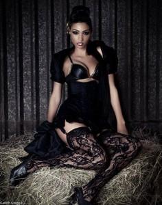 black_corset